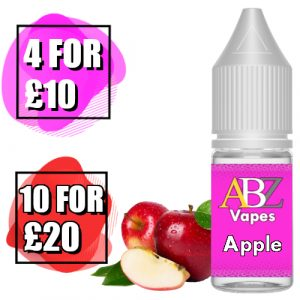Apple Eliquid by ABZ Vapes 10ml