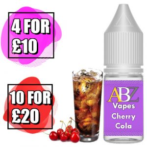 Cherry Cola 10ml Eliquid by ABZ Vapes