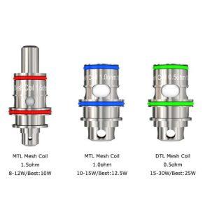 freemax twister 30w coils