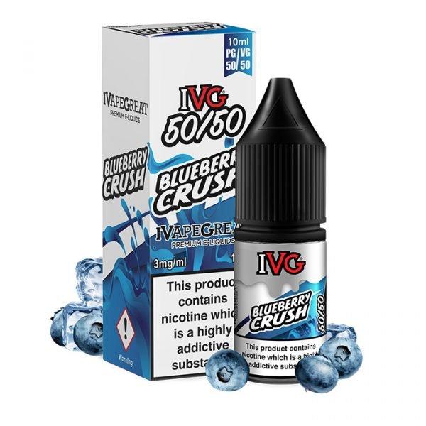 ivg 10ml blueberry crush