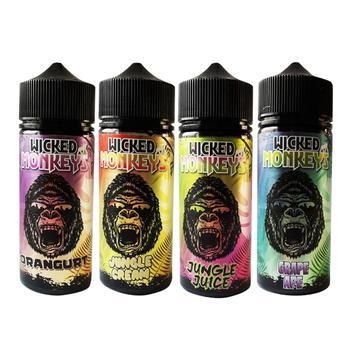 wicked monkeys 100ml shortfill