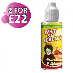 Pancakes & Syrup by Why So Cereal 100ml Shortfill