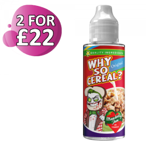 Strawberry Jam on Toast by Why So Cereral 100ml Shortfill